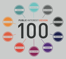 CUP makes Public Interest Design 100